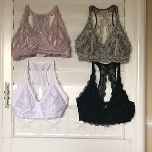 4 pack Felina Bralettes Size XL nwot